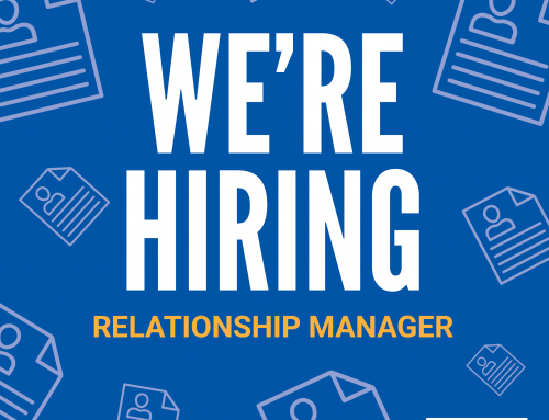 We're Hiring! Relationship Manager