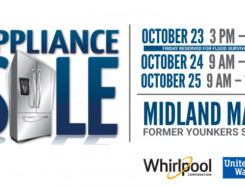 Whirlpool Corporation and United Way Will Host Second Appliance Sale  to Support Flood Recovery