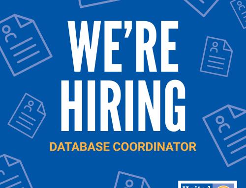 We're Hiring: Database Coordinator